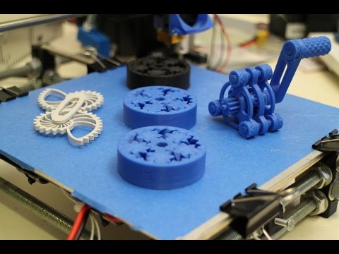 3D Print Mechanical Objects - Gears !
