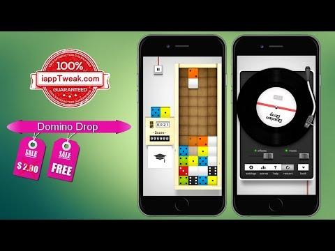 Domino Drop : Apple's free app of the week [$2 Value]