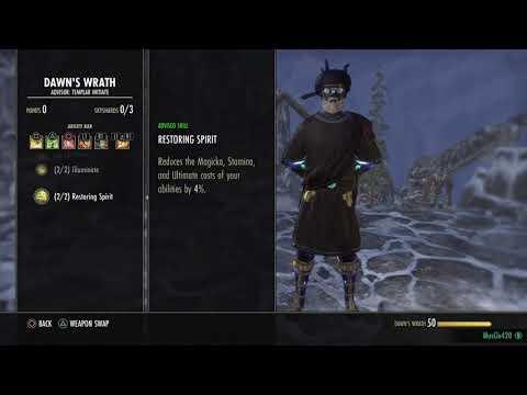 Stamina Templar Build - Dragon Bones