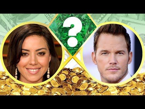 WHO'S RICHER? - Aubrey Plaza or Chris Pratt? - Net Worth Revealed! (2017)