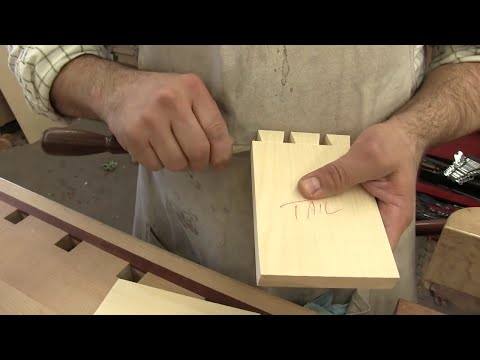 Hand Cut Dovetails, a different approach!