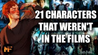 The Life of 21 HP Characters that Weren't in the Films (Harry Potter Explained)