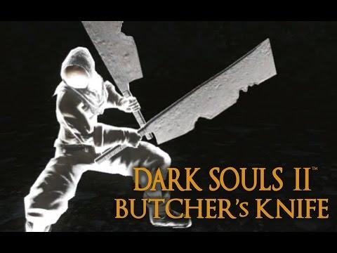 Dark Souls 2 Butcher's Knife Tutorial (dual wielding w/ power stance)