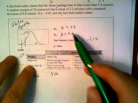t test By hand and with Calculator