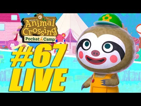 New and Improved! Animal Crossing: Pocket Camp Live Stream