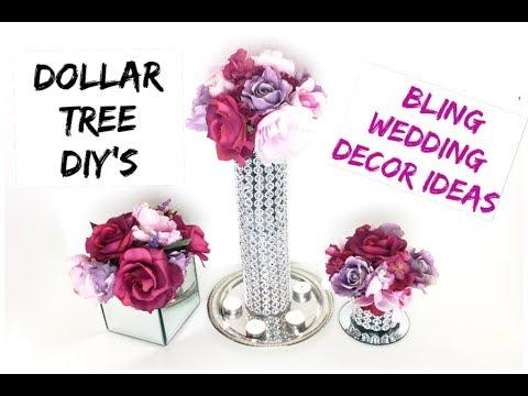 Diy Eye Catching Bling Candle Holder Wedding Decor Under 500