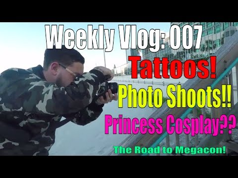 Tattoos, Photo Shoots, and Princess Cosplay?? | Weekly Vlog | Episode 007