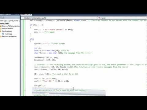 Let's make: MMORPG Part - 1 2/3 - Chat