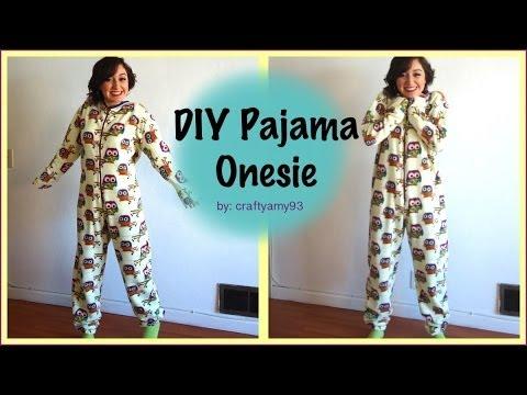 DIY Pajama Onesie!