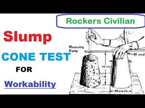 Slump Cone Test For Workability in Hindu /URDU || Procedure of Slump Cone Test
