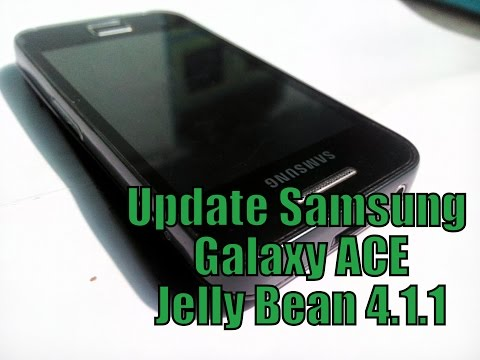How To Update Samsung Galaxy ACE S5380i to Android Jelly Bean 4.1.1