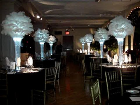 1920's Vintage Inspired Centerpieces at The Manhattan Penhouse NYC