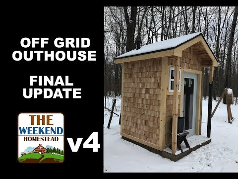 DIY - Getting ready for Paint -  Part 4 - Outhouse Off Grid Project UPDATE