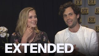 Penn Badgley, Elizabeth Lail Talk