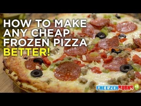 How to make any cheap frozen pizza better! Freezerburns (Ep569)