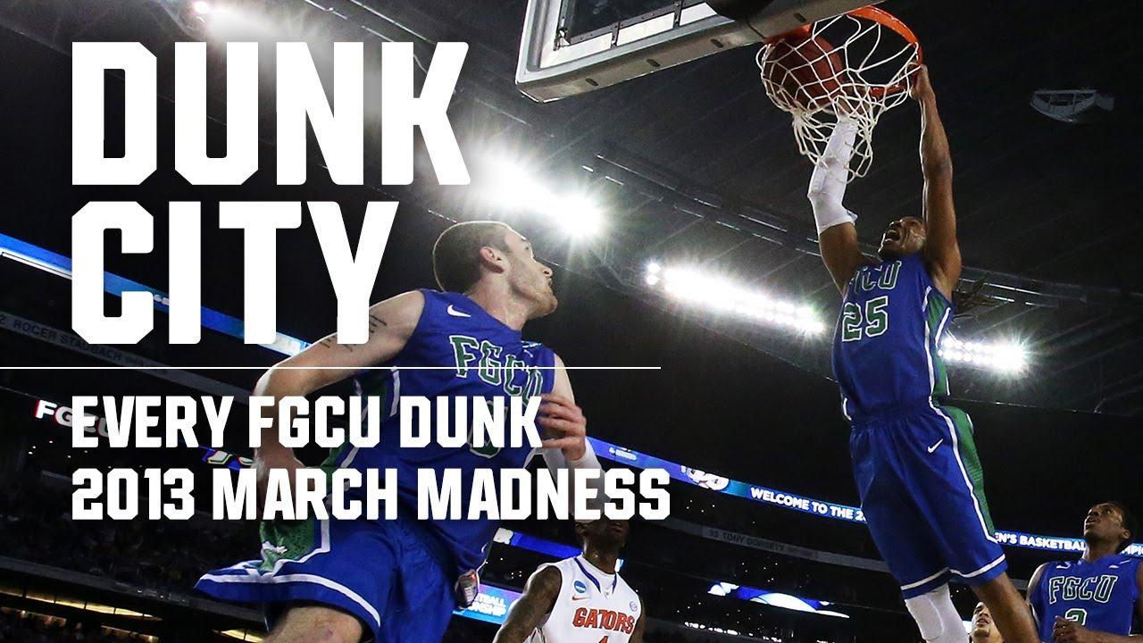 FGCU Dunk City: Every Florida Gulf Coast dunk from 2013 March Madness