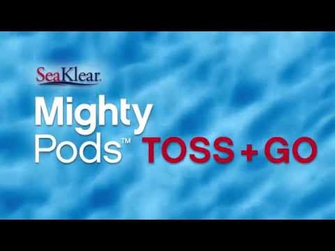 SeaKlear Mighty Pods Cloudy Pool Cure & Weekly Pool Care