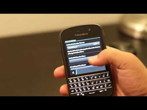How to change visual theme on BlackBerry OS 10.2 (Dark to Light)