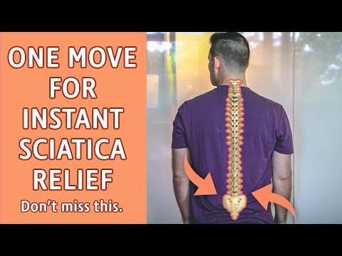 One Movement for Instant Sciatica Pain Relief