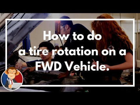 How to rotate my tires on a front wheel drive car - Educated Grease Monkey DIY