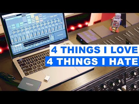 2017 MacBook Pro for Music - LOVE & HATE
