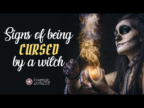 Signs of Being Cursed by Black Magic or Witchcraft 🔮
