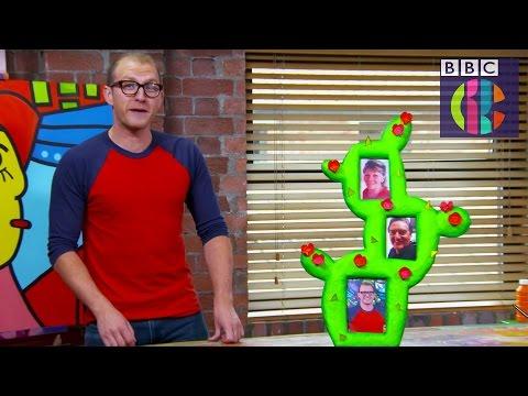 Make a Cactus Photo Frame | CBBC