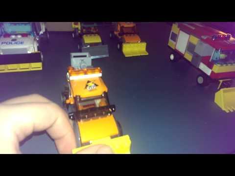 Lego city snow plow fleet