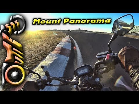 Mount Panorama Ride on a CTX700N