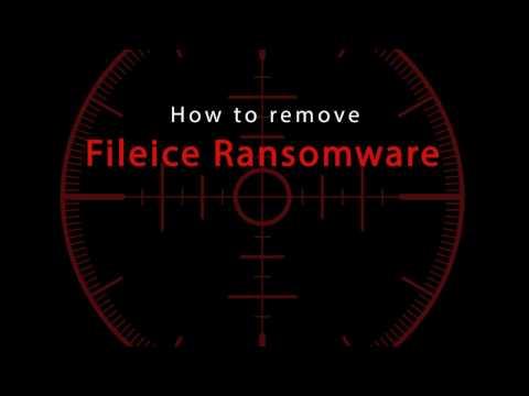 Remove Fileice Ransomware
