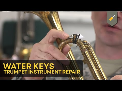 Water Keys: Trumpet Instrument Repair