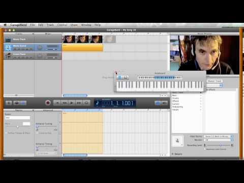 Extract iMovie audio with Garageband to make an iWeb podcast