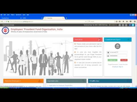 HOW TO DOWNLOAD UAN NUMBER FROM NEW EPF PORTAL UAN BASED