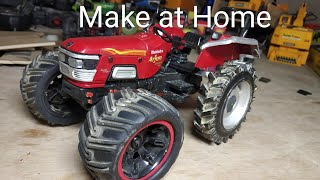 Part - 1 Mahindra 555 tractor average 8 feet in rotavator - Video