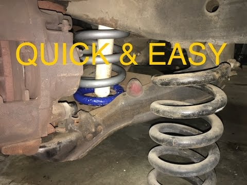 How To Remove Coil Springs On A Truck/SUV
