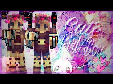 Pixel gun 3D: Cute boy & Girl skin