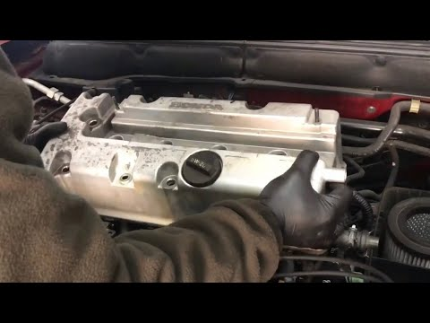 K20 K24 CR-V Accord RSX Valve Cover Gasket Install : How to ep 14