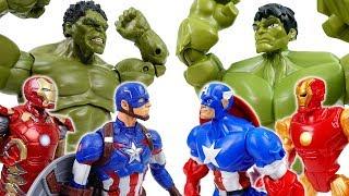 Avengers Vs. Avengers~! Defeat Dinosaur Together