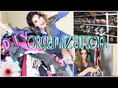 DIY Closet Organization & Tips!