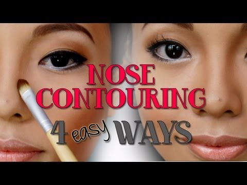 4 EASY Ways to Contour the NOSE