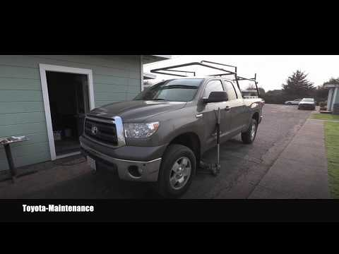 Toyota Tundra Front Differential Fluid Replacement