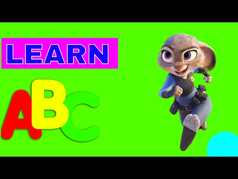 LEARN WORDS AND COLORS WITH COLORFUL LETTERS FOR TODDLERS