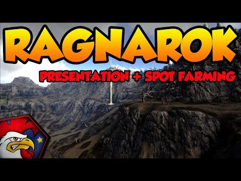 [TUTO ARK PC XBOX PS4] #50 la carte RAGNAROK