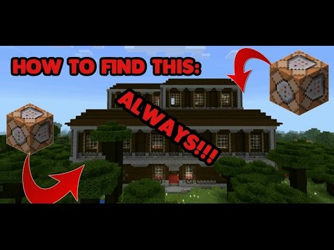 How to ALWAYS find a WOODLAND MANSION in MCPE 1.1!