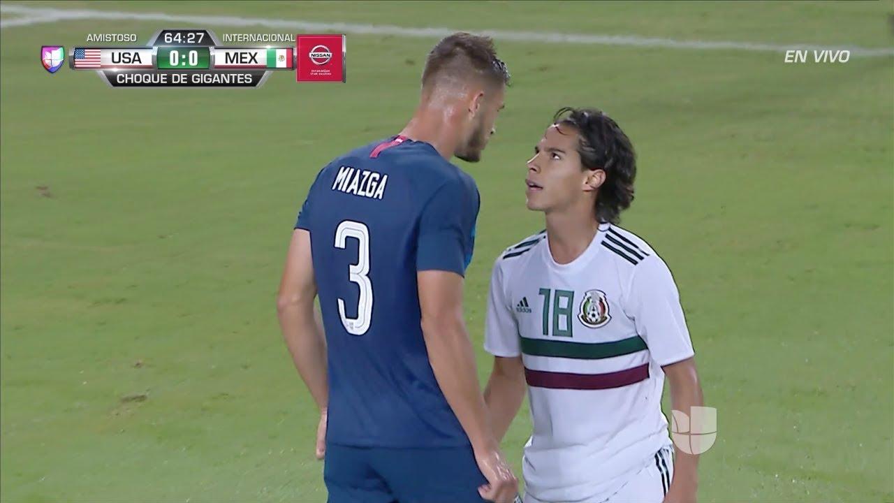 Diego Lainez vs USA (Friendly) - 9/11/18 HD 720p By EE