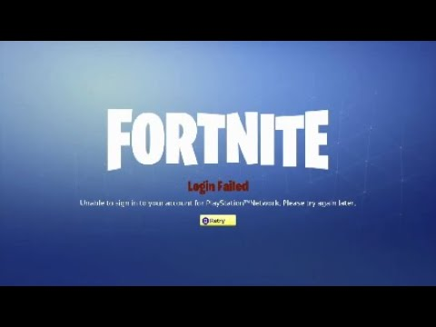 FortNite PlayStation Network Error *FIX METHOD*(check the description)