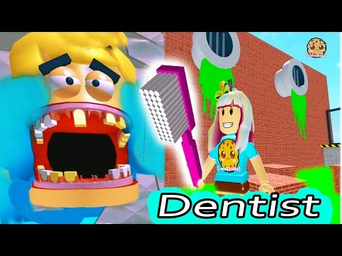 Dental Office Visit Jumping On Teeth ? Roblox Video Game Play Escape The Dentist Obby