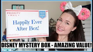 Download Mickey's Mystery Box DISNEY Unboxing! NEW Large Happily Ever After Box | January 2019 Video