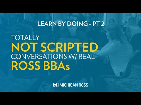 Michigan Ross BBA Students Discuss Working With WorkIt Health During Capstone MAP
