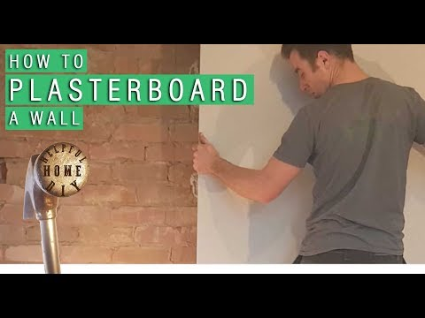 How to plasterboard a wall - DIY Step by Step Guide